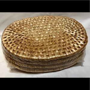 Other - 4 SET OF VINTAGE NATURAL WICKER HOT PADS